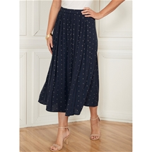Pull on Crinkle Skirt