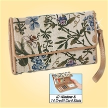 RFID Tapestry Purse