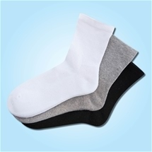 Ladies Cushioned Socks Set of 3