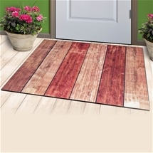 Wooden Look Doormat