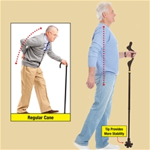 Self-Standing Cane