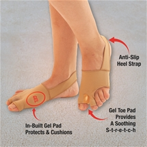 Ladies Bunion Gel Socks