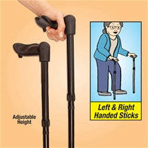 Ergonomic Walking Stick Set
