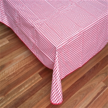 Gingham Wipe Clean Tablecloth - Rectangular