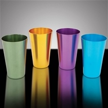 Aluminium Tumblers (Set of 4)