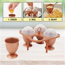 Copper Egg Cooker