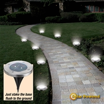 Solar Pathway Lights (Set of 4)