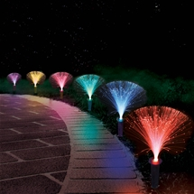 Fibre Optic Garden Lights