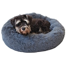 Calming Fleece Pet Bed