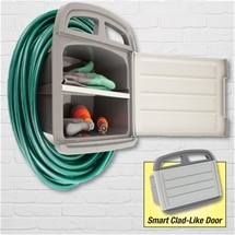 Hose Reel with Storage