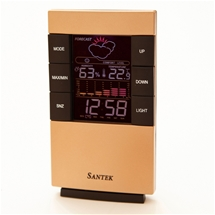 Santek Digital Weather Station Clock