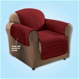 Quilted Cover Burgundy - 2 Seater_H1725_0