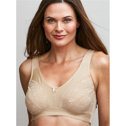 Total Support Full Cup Wire Free Bra